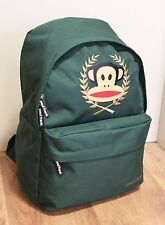 PAUL FRANK - JULIUS MONKEY CREST/MOTIF SCHOOL BACKPACK - GREEN
