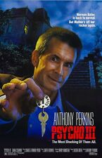 Psycho III movie poster : 11 x 17 inches : Anthony Perkins poster
