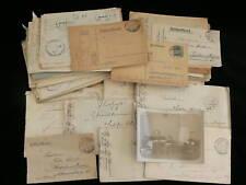 German WWI & WWII Correspondence 1914-41 - 70+ Items