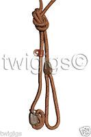 HI-CRAFT 🐶 Dog Slip Lead Parklife™ BROWN 10mm Nylon Rope 🐕