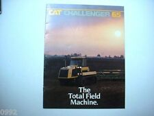 Caterpillar Challenger 65 Agricultural Tractor Brochure 12 Page                #