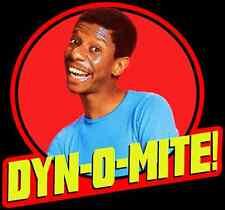 "70's TV Classic Good Times Jimmie Walker ""Dyn-O-Mite!"" custom tee Any Size"