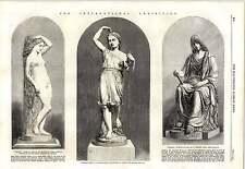 1862 Thornycroft'S saltare RAGAZZA STATUETTA memoria W Brodie