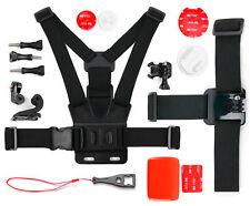 DURAGADGET Action Camera Accessories Bundle Compatible with GoPro HD Helmet Hero