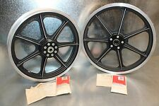 "NEW Vintage 74-77 Harley Ironhead XL Sportster 7 Spoke 18"" 19"" Morris Mag Wheels"
