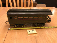 Lionel Train Standard Army Green New York Central Observation Passenger Car LotD