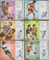 Laos 1135-1140 (kompl.Ausg.) postfrisch 1989 Fußball-WM 1990 in Italien