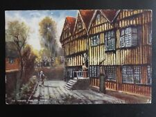 Derbyshire DERBY The Mayors Parlour c1904 by Raphael Tuck & Son 1655
