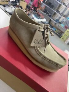 Clarks Wallabees Originals Sand Mens 7 Ladies 8.5