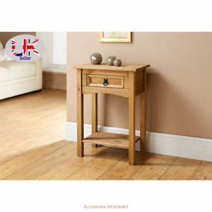 1 Drawer Console Table With Shelf Hallway Side Dressing Table