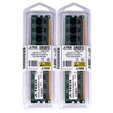 2GB KIT 2 x 1GB DIMM DDR2 ECC Unbuffered PC2-5300 667MHz 667 MHz 2G Ram Memory