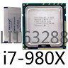 Intel Core i7-980X 3.33GHz LGA1366 6core 12M CPU Processor