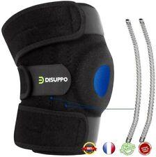 Genouillère Rotulienne Réglable Velcro Ligamentaire Attelle Genou pour Sport