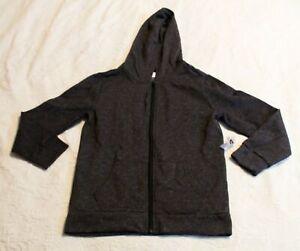 Old Navy Kids Gender-Neutral Uniform Zip Hoodie CM9 Dark Gray Size 14-16 NWT