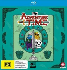 Adventure Time The Complete Collection Blu-ray 12 Discs New Unsealed AUS