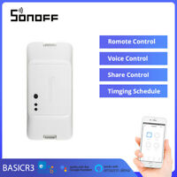 Sonoff BASICR3 DIY Switch Module WiFi Wireles Smart Home APP Remote Control NEW