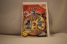 Flickback Greeting or Birthday Card With DVD  For Those Born in 1979    (v417)