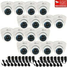 16x Dome Security Camera IR Night Outdoor Wide Angle Lens Built-in SONY CCD b6g