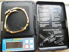 Schweres massives original LAPPONIA 585-er Gold Armband / Armreif 18,5 gr.