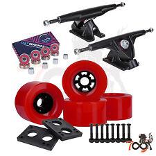 Cal 7 Longboard Flywheel 180mm Truck Bearing 83mm Red Skateboard Wheels