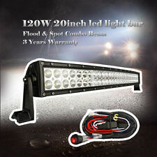 20 inch Led Work Light Bar OffRoad Curved Truck 4WD SUV  UTE ATV Jeep Driving 24