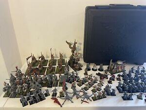 Huge Warhammer Empire Free Guild Army, War Altar, Steam Tank, Demigryphs LOOK