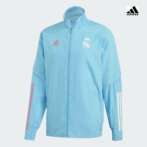 Real Madrid Adidas Suit Jacke Jacket 2020 21 Presentation HERREN hellblau