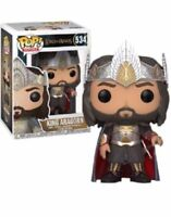 Rare King Aragorn Lord of the Rings Funko Pop Vinyl New in Mint Box