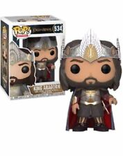 Exclusive King Aragorn The Lord of the Rings Funko Pop Vinyl New in Box