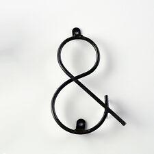 Symbol-& - Vintage Wire Letter - Sign Letter - Metal Letter - Diy Sign Letter