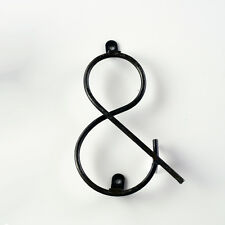New listing Symbol-& - Vintage Wire Letter - Sign Letter - Metal Letter - Diy Sign Letter