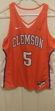 Clemson Tigers Basketball Jersey Home/Away Reversible Nike Men's Jersey Medium