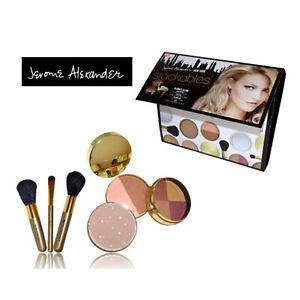 Stackables Make Up Set Foundation Concealer Eye Shadow Mirror Brsuhes Gift JML
