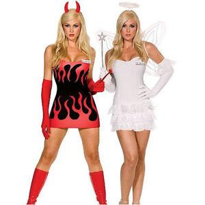 Sexy Reversible Angel Devil Costume