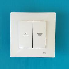 Interruptor persianas serie BJC Viva blanco