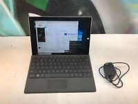 Microsoft Surface 3 Tablet Computer Intel Atom CPU 4GB RAM 64GB SSD Windows 10
