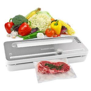 Vacuum Food Sealer Machine Automatic Vacuum Air Sealing System With BPA Free Bag