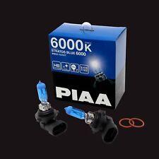 HZ507 PIAA HB3/HB4 STRATOS BLUE HEADLIGHT BULBS (x2) 6000K XENON EFFECT 100W