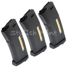 Airsoft PTS 3pcs EPM 150rd Mag Enhanced Polymer Magazine For M4 M16 AEG Black