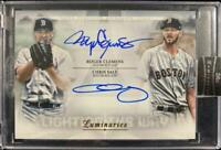 MLB Card 2019 Roger Clemens Chris Sale Topps Luminaries Boston Red Sox Auto 3/5