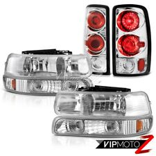 00 01 02 03 04 05 06 Suburban 5.7L Crystal Parking Headlights Chrome Brake Lamps