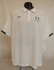 NEW Oregon DUCKS Volleyball TEAM ISSUED Nike COLLAR SHIRT Men's LARGE Polo NWT