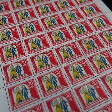 feuille sheet Bogen Deutschland berlin Nr.264 x50 1966 neuf luxe mnh