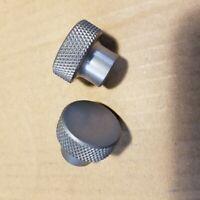 "☆☆Free Shipping☆☆ Aluminum Knurled Shift//lever Knob  3//8-16 Thread 1-3//4/"" Dia"