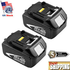 2X18V 6.0Ah Lithium Replace for MAKITA BL1860 BL1850 BL1840 BL1830 Cordless Tool