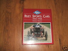 Riley Sports Cars 1926 to 1938 - Graham Robson book,1986;Sporting Rileys,Healey.