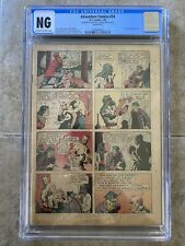 Adventure Comics #34 CGC 1939 DC Comics Coverless Fred Guardenineer Cover