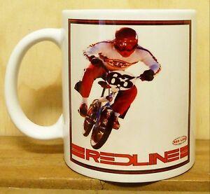 300ml COFFEE MUG, REDLINE  BMX