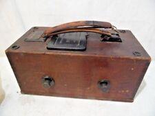 Antique 1907 Evershed's Low Range Constant Pressure Testing Set Megger #347797