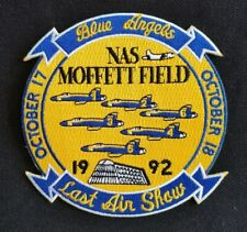U.S.N Navy BLUE ANGELS COMMEMORATIVE last air show  Military Patch